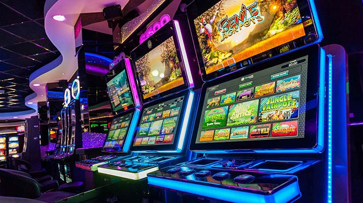 You can play slot casinos games in many ways